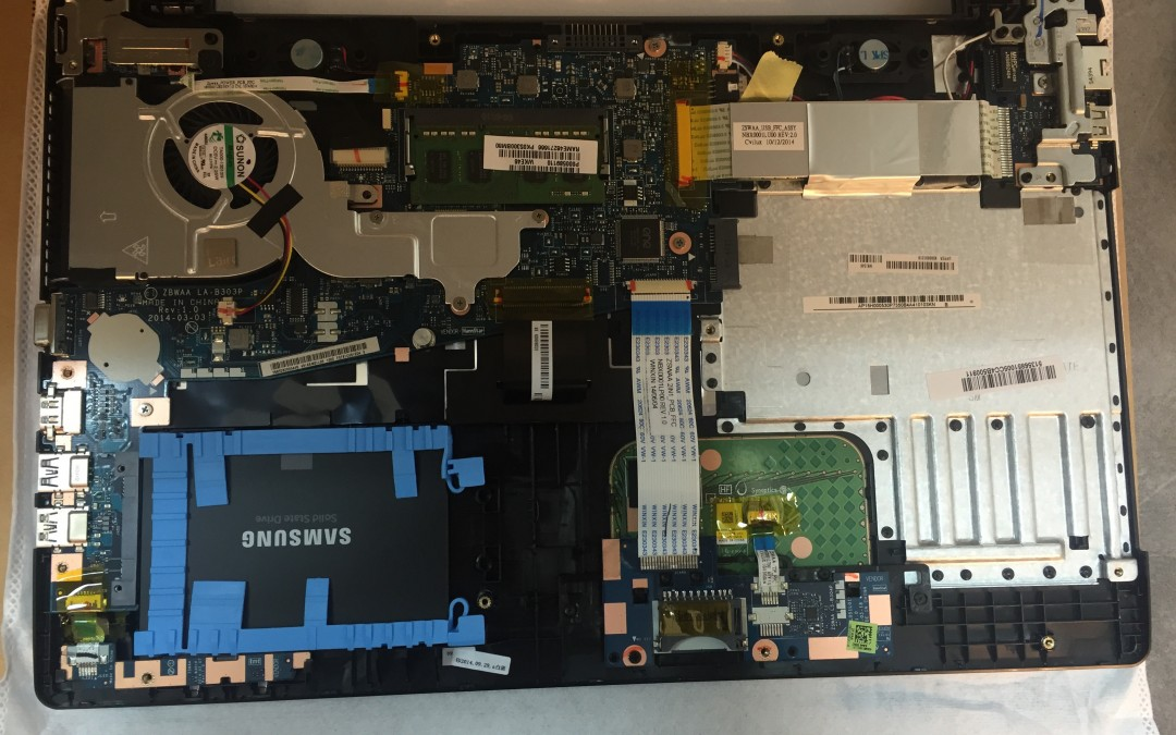 Upgrade SSD