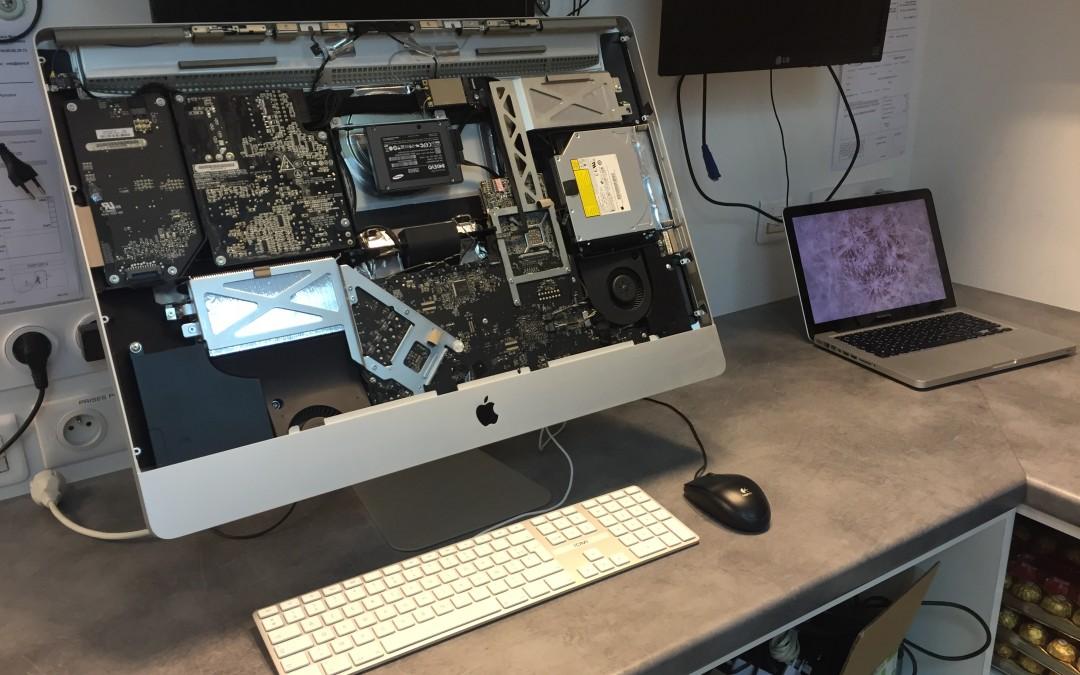iMac écran HS